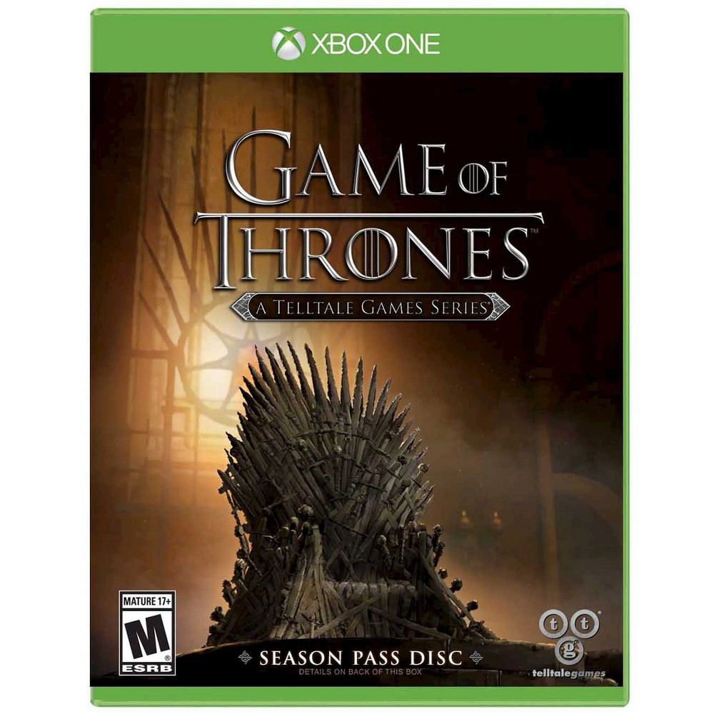 Game of Thrones: A Telltale Games Season Pass Disc Xbox One