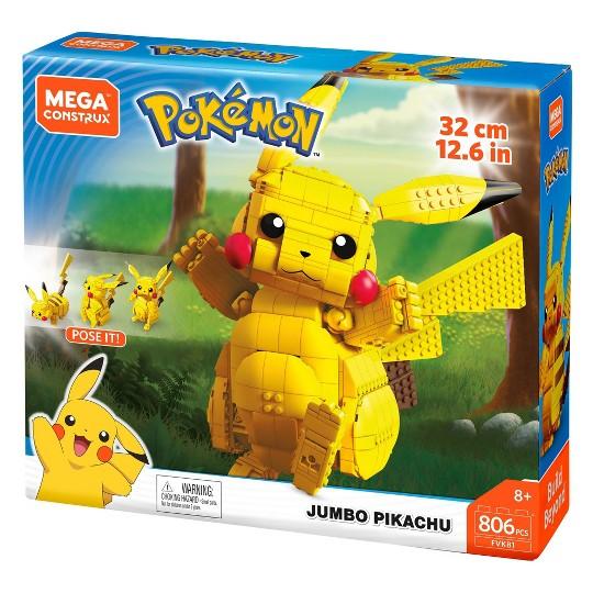 MEGA Construx Pokemon Jumbo Pikachu - 806pc image number null