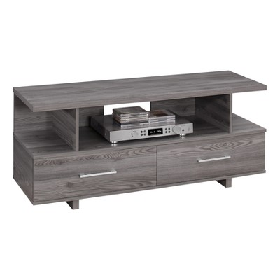TV Stand with Drawers - Gray - EveryRoom