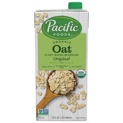 Pacific Foods Organic Oat Non-Dairy Beverage - 32 fl oz