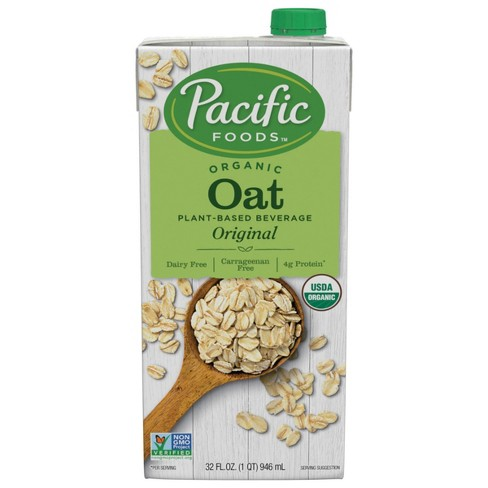 Pacific Foods Organic Oat Non-Dairy Beverage - 32 fl oz - image 1 of 4