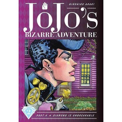 Jojo's Bizarre Adventure: Part 4--Diamond Is Unbreakable, Vol. 2 - by  Hirohiko Araki (Hardcover) - image 1 of 1