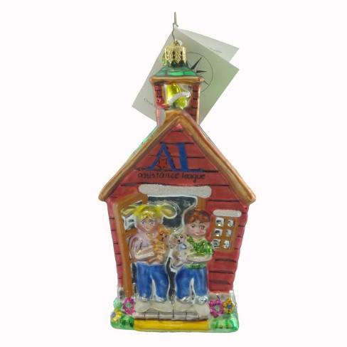 Christopher Radko Operation School Bell Ornament Charity - image 1 of 2