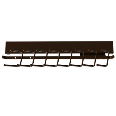 Rev-A-Shelf Sidelines CTRSL 14 Inch Pull-Out Sliding Extending Closet Storage Organizer Deluxe Tie Rack for Up to 16 Ties