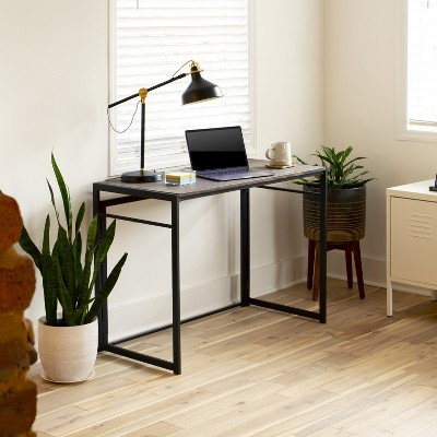 Flash Furniture Rustic Home Office Folding Computer Desk - 40""