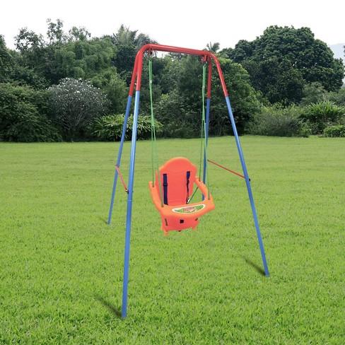 Costway Kids Toddler Children Swing, Toddler Outdoor Swing Seat