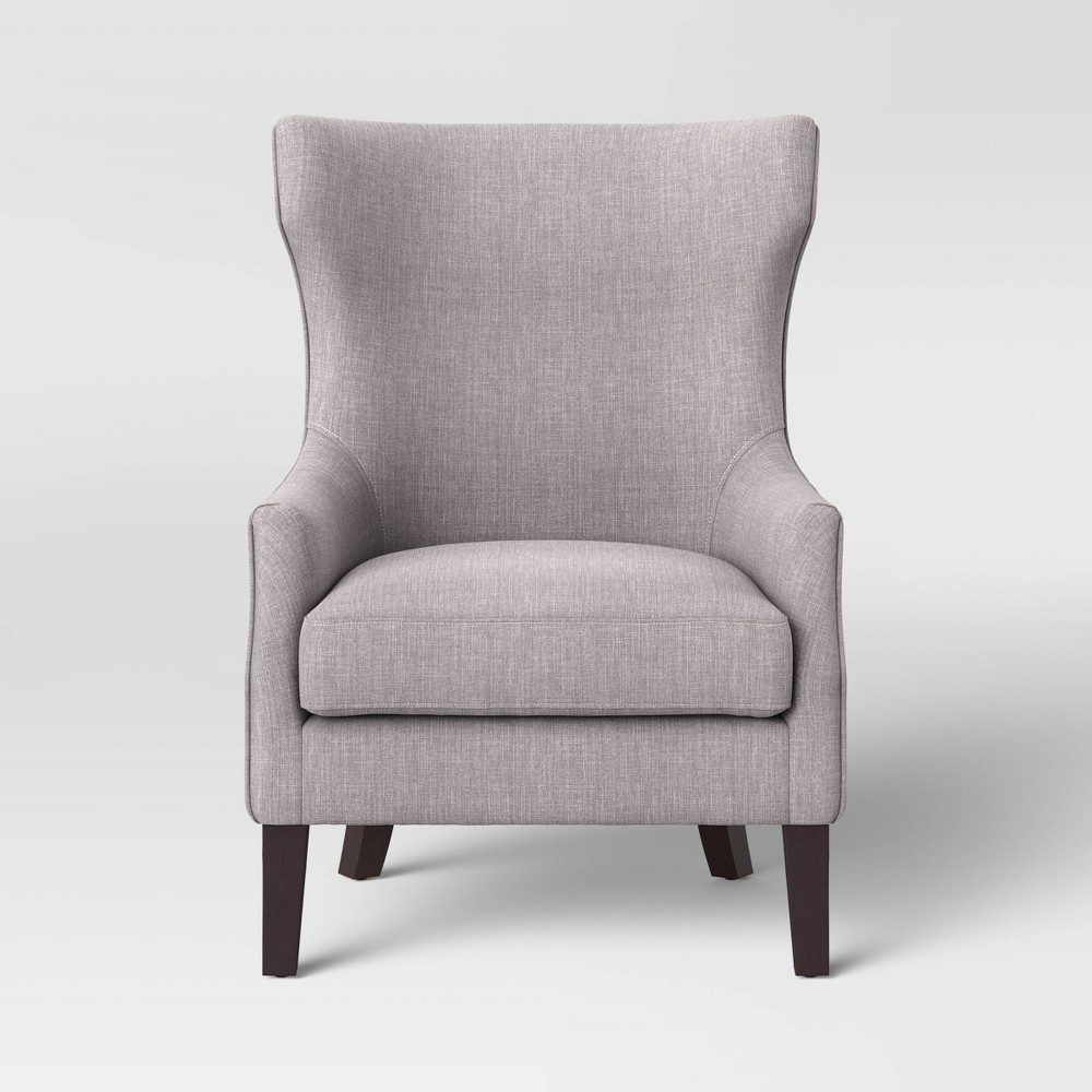 Awe Inspiring Earnest Lounge Chair Gray Threshold Caraccident5 Cool Chair Designs And Ideas Caraccident5Info