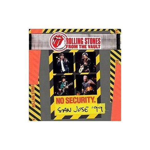 The Rolling Stones - From The Vault: No Security. San Jose '99 (Vinyl) - image 1 of 1