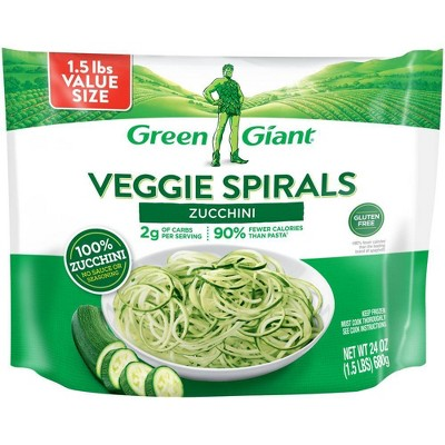 Green Giant Veggie Spirals Frozen  Zucchini Spirals Value Size -  24oz