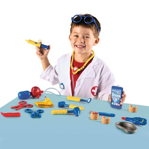 learning resources pretend and play doctor set target