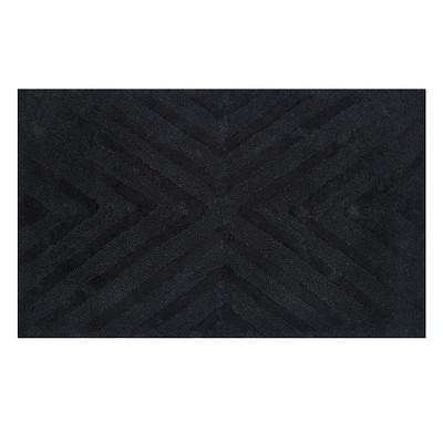 Textured Stripe Bath Rug (20 X34 )Galaxy Black - Project 62™ + Nate Berkus™