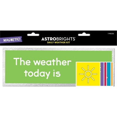 7pc Magnetic Daily Weather Kit - Astrobrights