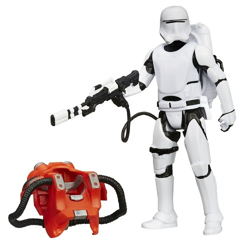 Star Wars The Force Awakens 3.75-Figure Space Mission Armor First Order Flametrooper - image 1 of 10