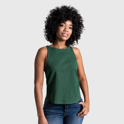 Women's United By Blue Organic High-Neck Tank Top