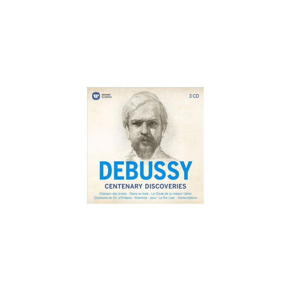 Claude Debussy - Debussy Centenary Discoveries (CD)