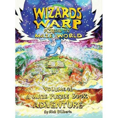 Wizards Warp - by  Nick Diliberto (Hardcover) - image 1 of 1