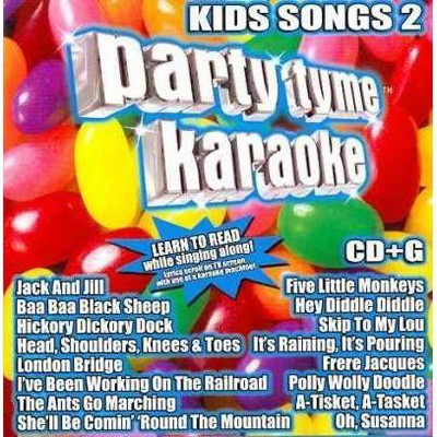 Party Tyme Karaoke - Party Tyme Karaoke - Kids Songs 2 (16-song CD+G)