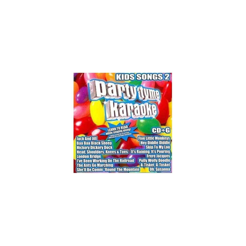 Karaoke - Party Tyme Karaoke: Kids Songs 2 (CD) Cheap