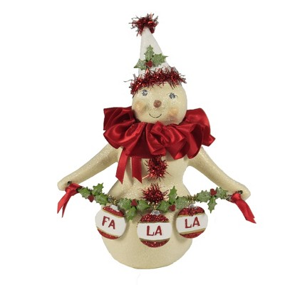 """Christmas 6.5"""" Lil Baby Ruth Snowman  -  Decorative Figurines"""