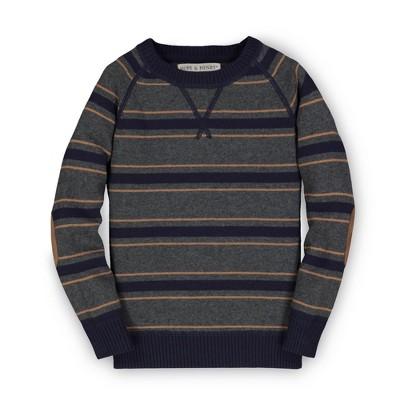 Hope & Henry Kids Boys' Crewneck Sweater