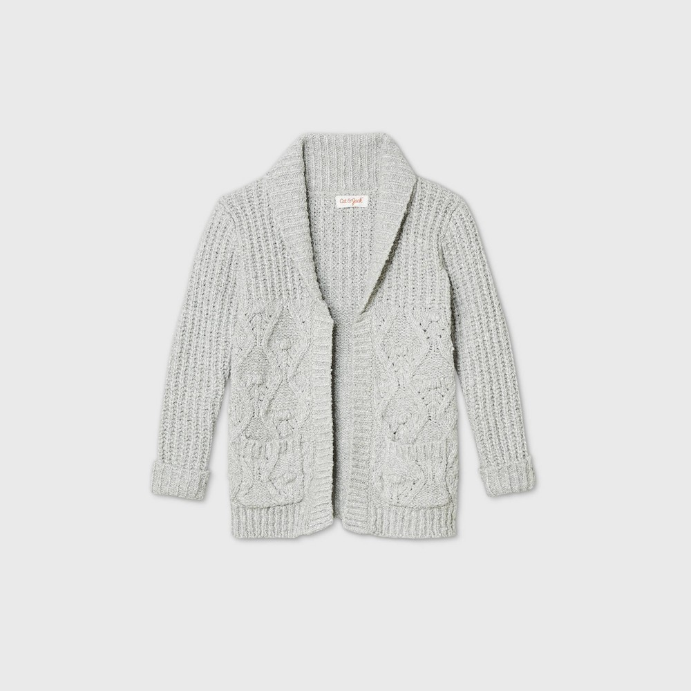 Compare Toddler Girls' Cable Knit Cardigan - Cat & Jack™