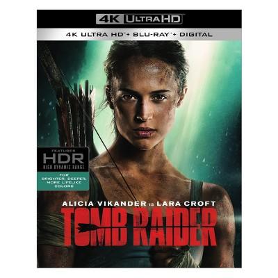 Tomb Raider (2018)(4K/UHD + Blu-ray + Digital)