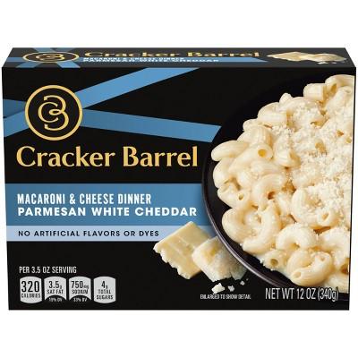 Cracker Barrel Parmesan White Cheddar Macaroni & Cheese - 12oz