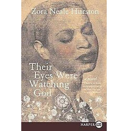 Their Eyes Were Watching God (Larger Print) (Paperback) (Zora Neale Hurston & Valerie Boyd) - image 1 of 1