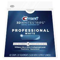 20-Count Crest 3D Whitestrips Professional White Teeth Whitening Kit + $10 Gift Card