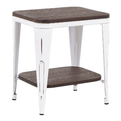 Oregon Industrial End Table - LumiSource