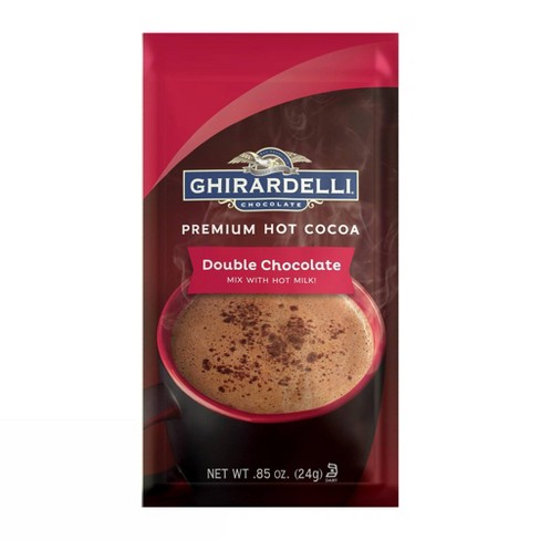 Ghirardelli Chocolate Double Chocolate Premium Hot Cocoa Mix - .85oz - image 1 of 3