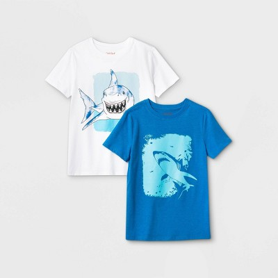 Boys' 2pk Graphic Short Sleeve T-Shirt - Cat & Jack™