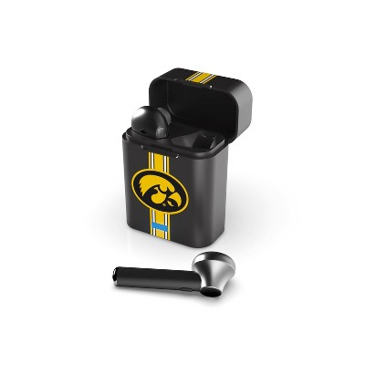 NCAA Iowa Hawkeyes True Wireless Bluetooth Stem Earbuds