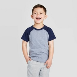 Toddler boys' Short Sleeve Raglan T-Shirt - Cat & Jack™