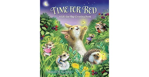 Time for Bed! : A Lift-the-Flap Counting Book (Hardcover) (A. J. Heaslip) - image 1 of 1