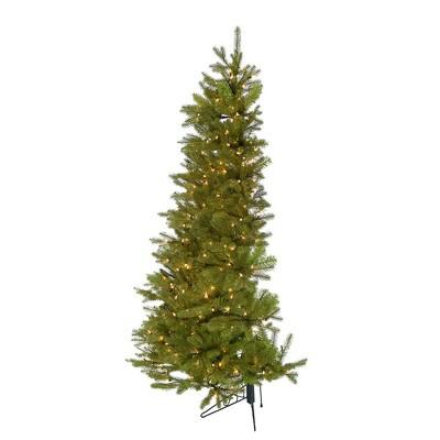 Kurt Adler 6' Pre-Lit PE Half Tree with Stand