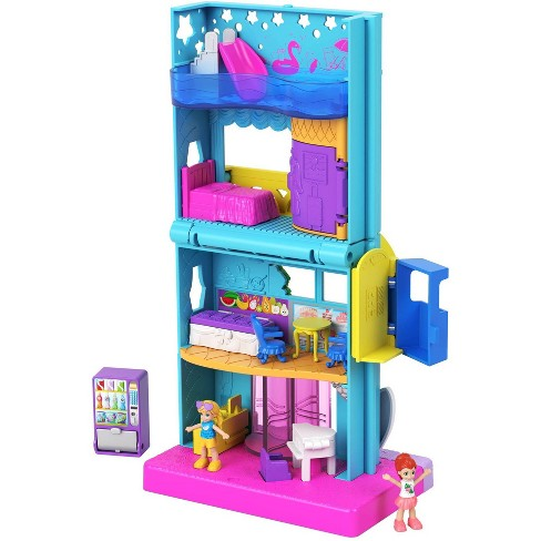 Polly Pocket Pollyville Hotel Playset - image 1 of 4