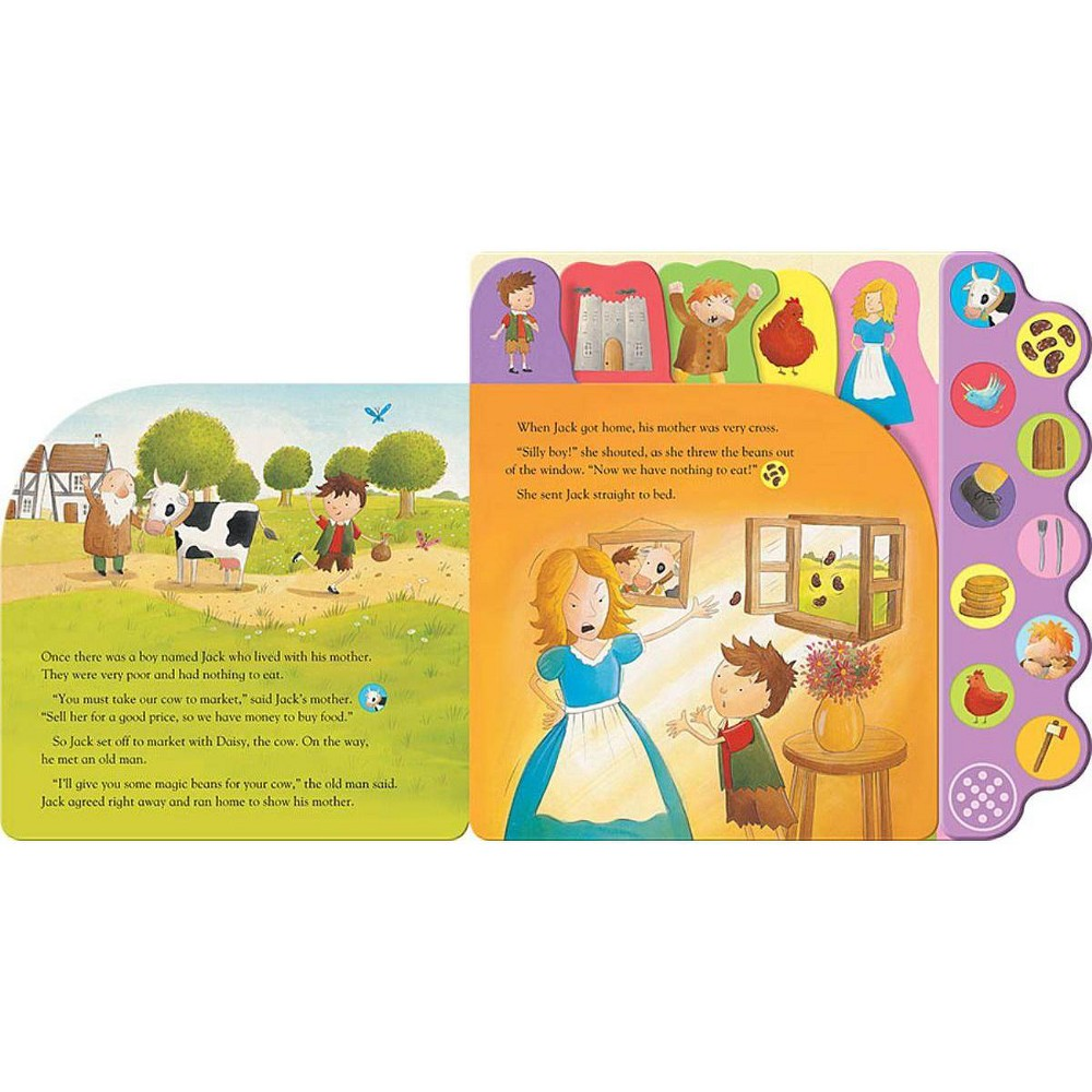 Jack And The Beanstalk Board Book