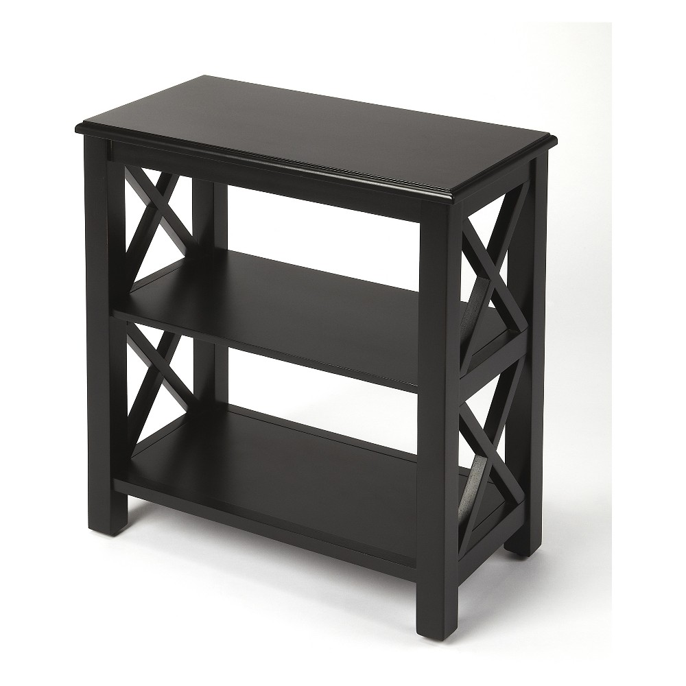 "Image of ""25"""" Butler Specialty Vance Bookcase Black Licorice"""