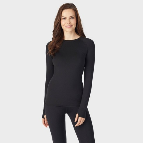 Warm Essentials by Cuddl Duds Women's Thermal Active Long Sleeve Crew Top - image 1 of 4