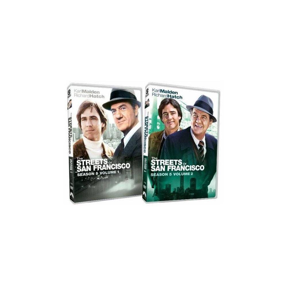 The Streets Of San Francisco Season 5 Dvd 2012