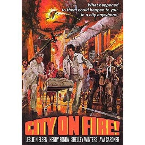 City On Fire (DVD) - image 1 of 1