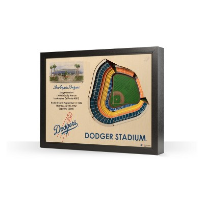 MLB Stadium View 3D Wall Art
