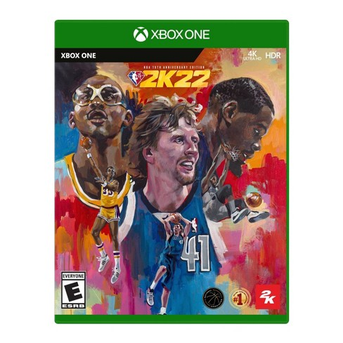 NBA 2K22: 75th Anniversary Edition - Xbox One - image 1 of 4