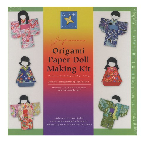 Origami Paper Doll Making Kit - Aitoh - image 1 of 1