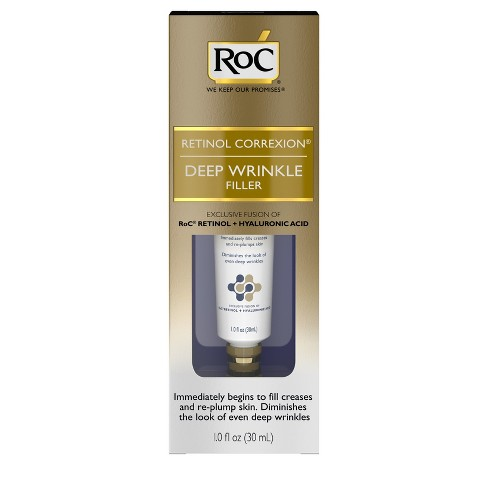 RoC Retinol Correxion Deep Wrinkle Anti-Aging Filler - 1 fl oz - image 1 of 9