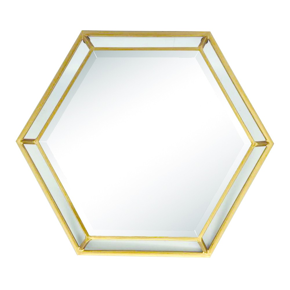 Image of Hexagon Wall Mirror - Home Source