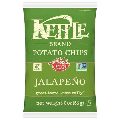 Kettle Café Jalapeno Potato Chips - 2oz