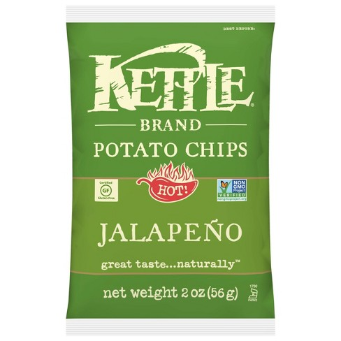 Kettle Caf Jalapeno Potato Chips - 2oz - image 1 of 4