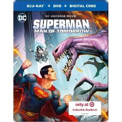 Superman: Man of Tomorrow (Target Exclusive) (Blu-ray + DVD + Digital)
